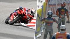 (Bild: GEPA, twitter.com/MotoGP)