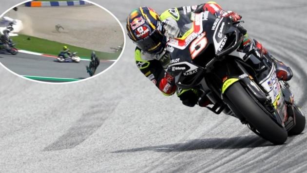 Johann Zarco (Bild: GEPA, twitter.com/MotoGP)