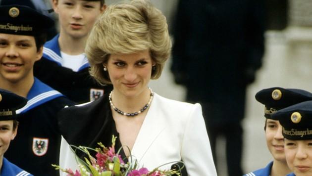 Prinzessin Diana 1986 beim Besuch in Wien (Bild: The Picture Library / Action Press / picturedesk.com)