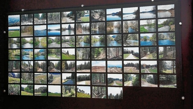 Die innere Grenze: Ein Kunstprojekt von Nicole Six und Paul Petritsch lenkt die Aufmerksamkeit auf manifeste und gedachte Grenzen. (Bild: Rojsek-Wiedergut Uta)