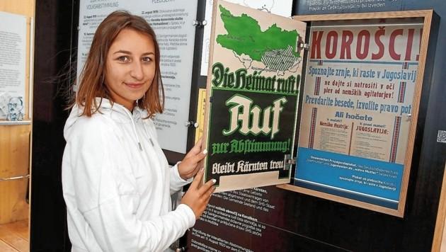Propaganda: Plakate informierten und riefen zur Abstimmung auf (Bild: Rojsek-Wiedergut Uta)