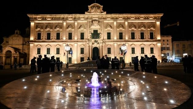 Das Parlament in Valletta (Bild: ANDREAS SOLARO/AFP)