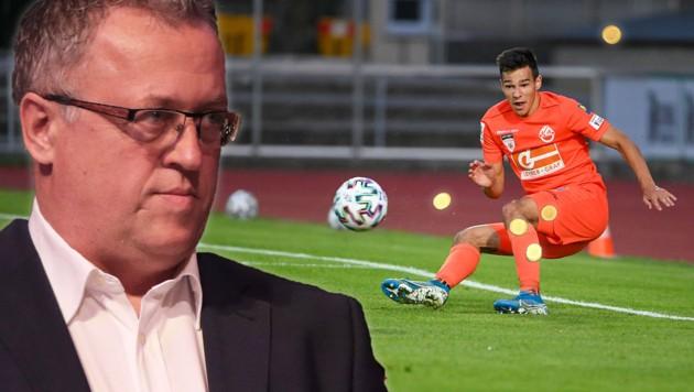 Franz Wohlfahrt (li.) und Marco Hausjell (Bild: GEPA )