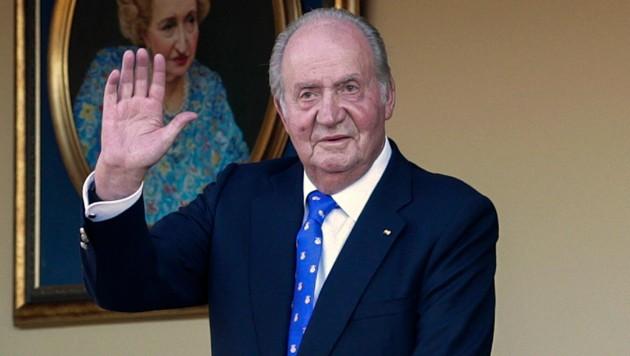 Der ehemalige spanische König Juan Carlos hält sich derzeit in den Vereinigten Arabischen Emiraten auf. (Bild: AP)