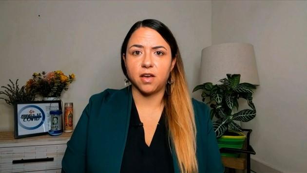 Kristin Urquiza erhebt schwere Vorwürfe gegen US-Präsident Trump. (Bild: AP)