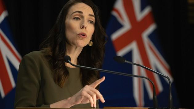 Die neuseeländische Premierministerin Jacinda Ardern (Bild: AFP )