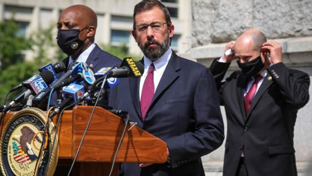 Ermittler gaben bekannt, dass sie den Mord an Run-DMC-Mitglied Jam Master Jay endlich aufklären konnten. (Bild: AP)