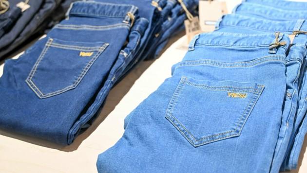 Die Linzer haben sich nachhaltigen und fairen Textilien verschrieben. (Bild: Harald Dostal)