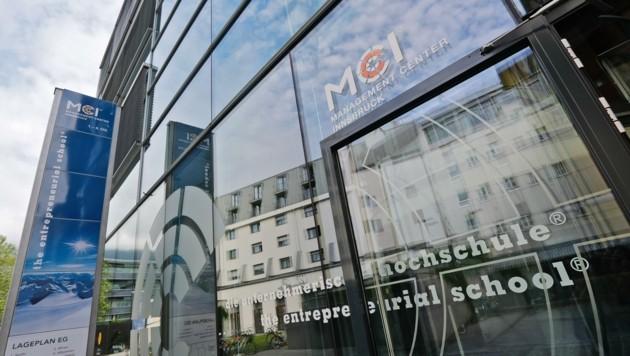 Das MCI plant die Anmietung von Räumlichkeiten und eigene Corona-Teststationen. (Bild: Birbaumer Christof)