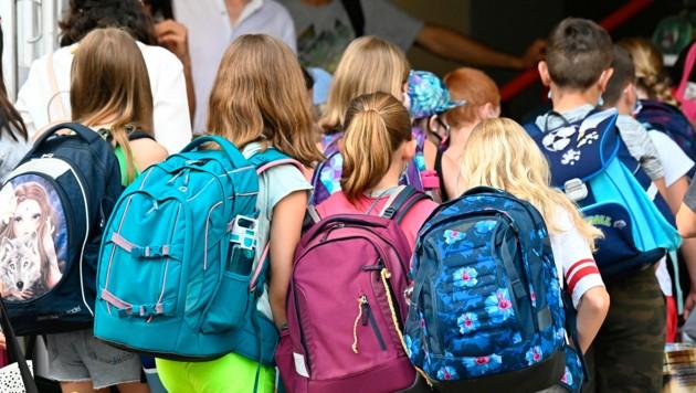 Am 10. August ging für die Schüler in Berlin nach den Sommerferien die Schule wieder los. (Bild: AFP)