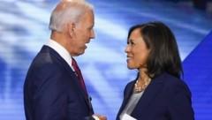 Joe Biden und Kamala Harris (Bild: APA/AFP/Robyn Beck)