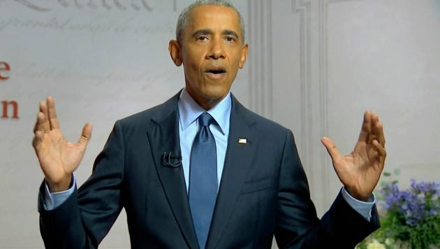Barack Obama wirft Präsident Trump Versagen vor. (Bild: AP)
