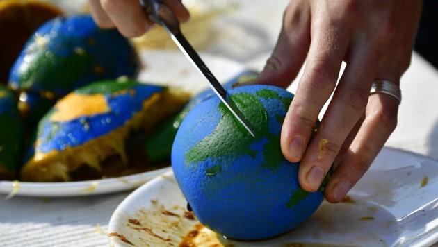 """Am """"Welterschöpfungstag"""" hat die Menschheit alle """"natürlichen"""" Ressourcen für dieses Jahr aufgebraucht und lebt bis Jahresende """"auf Pump"""". (Bild: AFP/Tobias SCHWARZ)"""