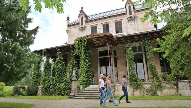 Marmorschlössl Bad Ischl Teehaus Kaiserin Elisabeth Photomuseum Kaiservilla (Bild: Marion Hörmandinger)