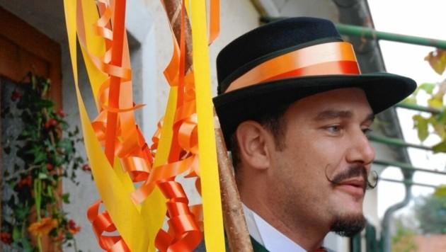 Albin Wiesenhofer ist leidenschaftlicher und versierter Brautführer und Hochzeitseinlader.