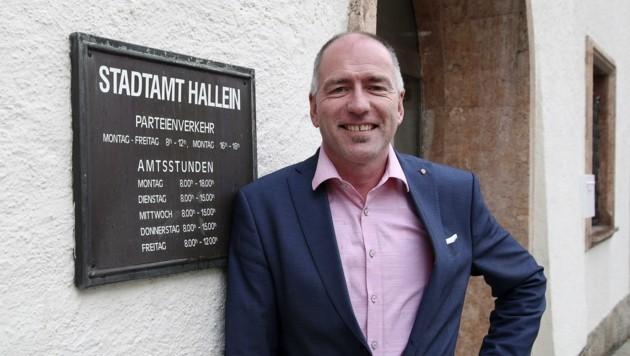 Bürgermeister Alexander Stangassinger fehlen heuer 2,5 Millionen Euro (Bild: Tröster Andreas)