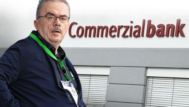 Ex-Bankchef und Ex-Fußballmanager Martin Pucher (Bild: GEPA, Krone KREATIV, APA)