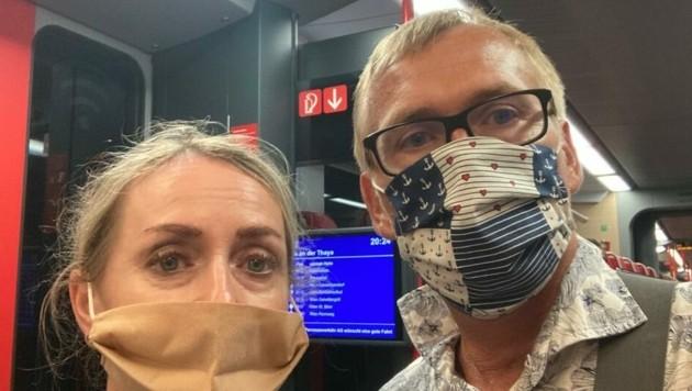Dieses Grazer Ehepaar fühlt sich von den Behörden schlecht informiert - trotz aktuellen Corona-Tests ging's nach Rückkehr aus Tunesien in Quarantäne.