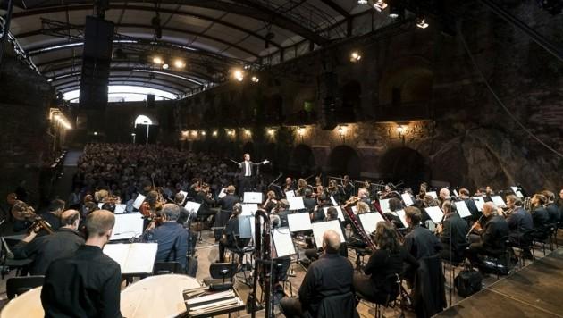 """Aus für Konzerte? (Hier: """"Fidelio"""" am Schloßberg) (Bild: Werner Kmetitsch)"""