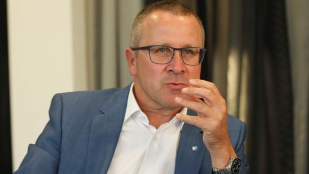 FACC-Vorstandschef Robert Machtlinger