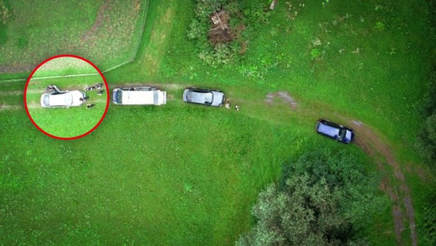 Ein Drohnen-Einsatz der Polizei war bereits erfolgreich.