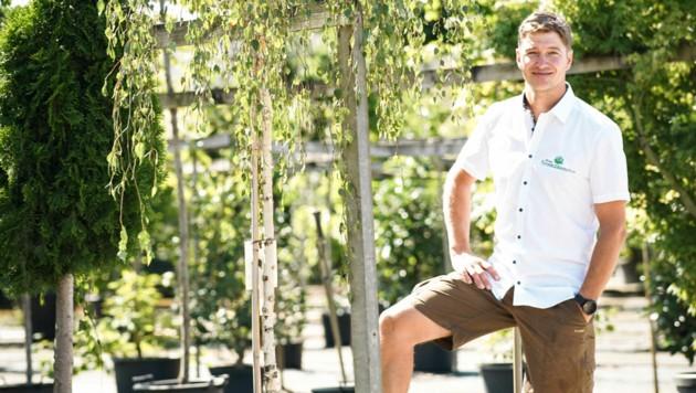 Michael Ranseder übernahm 2011 von seinem Vater die Baumschule.