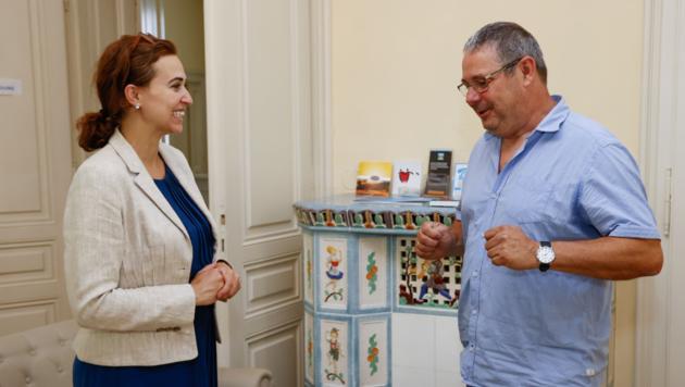 Ministerin Zadic auf Salzburg-Besuch (Bild: Markus Tschepp)