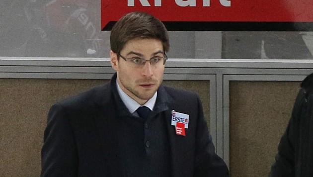 Pierre Beaulieu noch als Trainer in Innsbruck. Foto: Christian Forcher