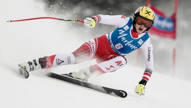 Im Super-G von La Thuile raste Nina Ortlieb am 29. Februar diesen Jahres zu ihrem allerersten Sieg in einem Weltcuprennen.