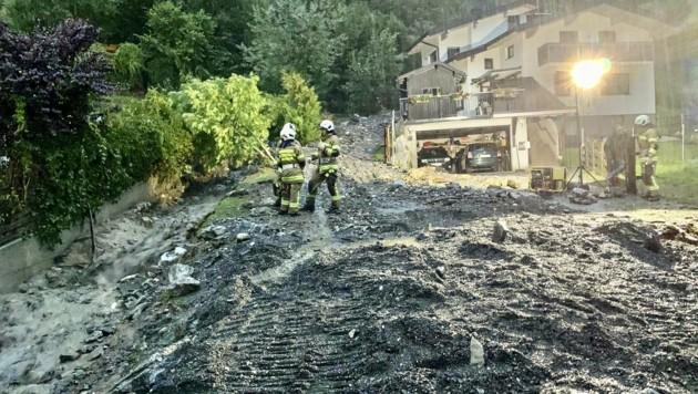 50 Personen wurden in Sicherheit gebracht. (Bild: Tschepp Markus)