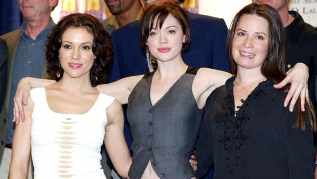 """Alyssa Milano, Rose McGowan und Holly Marie Combs spielten drei Hexen-Schwestern in """"Charmed""""."""
