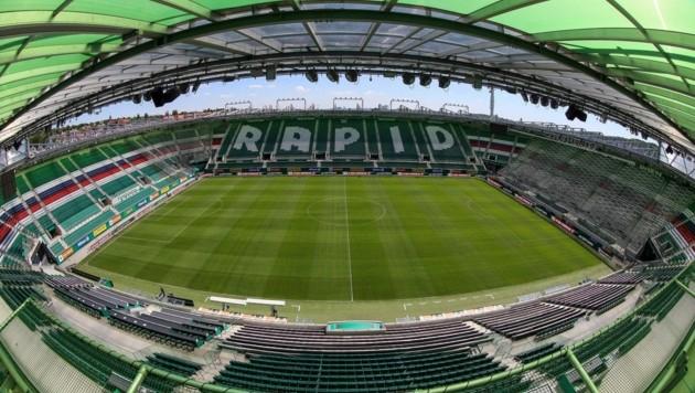 Dort soll St. Johann am Sonntag auflaufen: in der Allianz-Arena von Rapid. Zuvor müssen aber die Corona-Tests negativ sein.