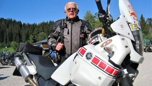 Der 68-jährige Oberösterreicher Rudolf ist das erst Mal hier