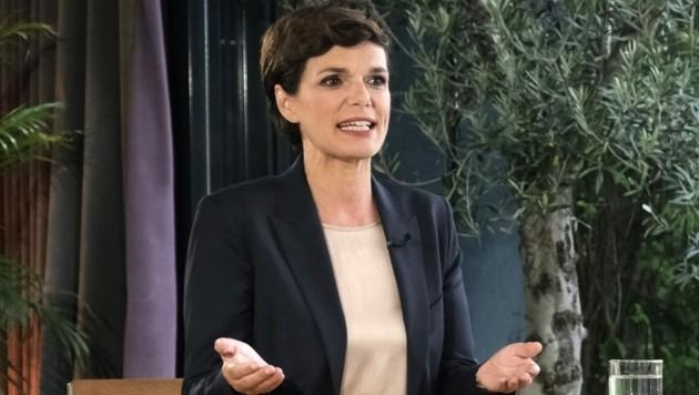 """SPÖ-Chefin Pamela Rendi-Wagner im ORF-""""Sommergespräch"""" am Montagabend (Bild: ORF)"""