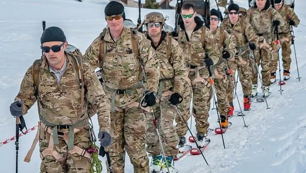 """Soldaten der US-Nationalguard nahmen 2019 bei der """"Edelweiß-Raid"""" teil. (Bild: BERGER HUBERT)"""