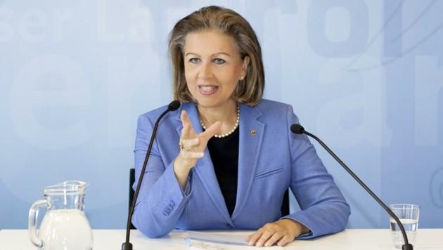Landesrätin Patrizia Zoller-Frischauf setzt auf nachhaltiges Wirtschaftswachstum.