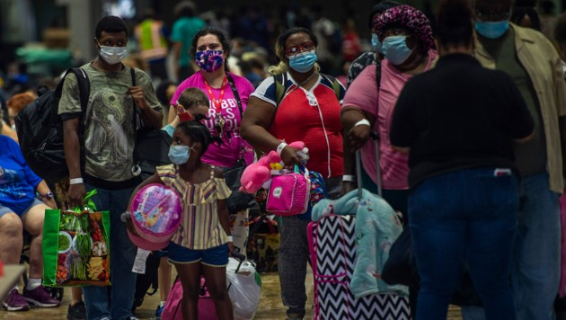 Notunterkünfte sind geöffnet. (Bild: AFP)