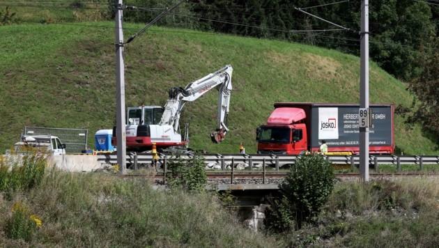 Hoferbrücke in Bruck an der Großglocknerstraße wird um eine halbe Million Euro erneuert (Bild: Roland Hölzl)