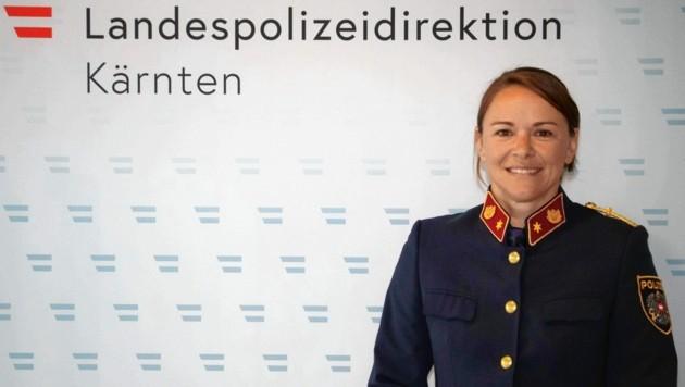 Leutnant Katrin Horn.