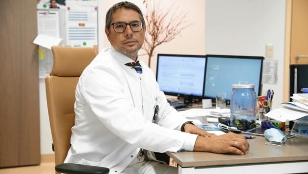 Prim. Prof. Priv.-Doz. Dr. Arnulf Ferlitsch, Krankenhaus der Barmherzigen Brüder in Wien.
