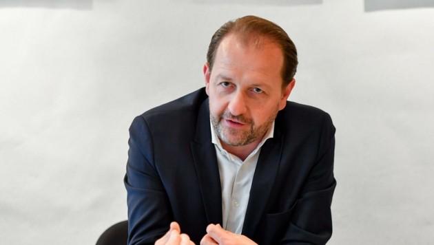 Bernhard Baier, ÖVP-Vizebürgermeister und Marktreferent