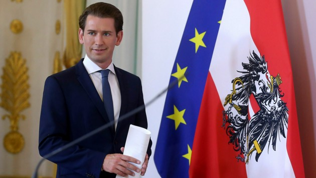 Bundeskanzler Sebastian Kurz (ÖVP) (Bild: The Associated Press)