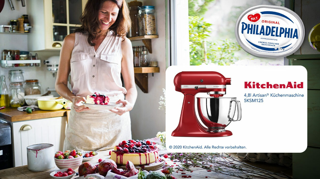 (Bild: Philadelphia, KitchenAid, stock.adobe.com, Krone KREATIV)