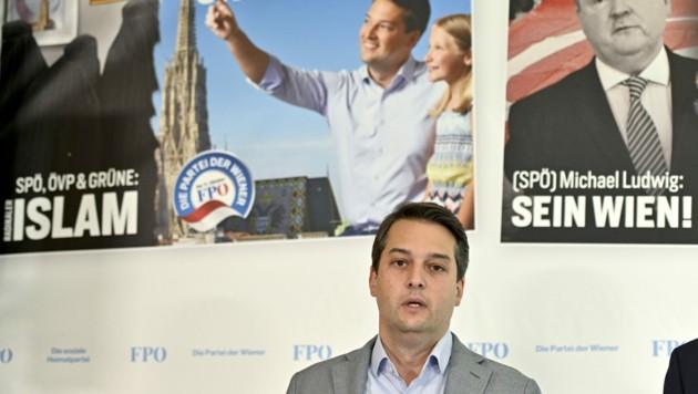 FPÖ-Spitzenkandidat Dominik Nepp