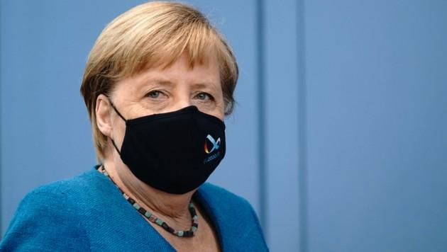 """Deutschlands Kanzlerin Merkel erklärte erst am Mittwoch, dass Nawalny """"zum Schweigen gebracht werden sollte"""". (Bild: AFP)"""