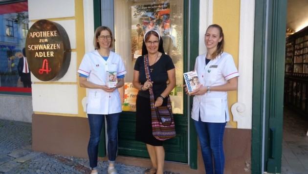 Schwester Beneder sammelt Medikamente für Peru in Zwettl (Bild: Franziskanerinnen/zVg)
