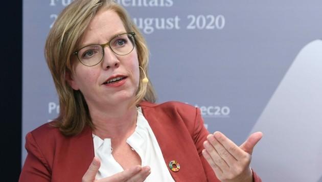 Umweltministerin Leonore Gewessler (Grüne) trifft sich am Freitag mit den Verkehrslandesräten.