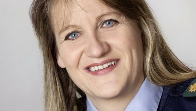 Gabriele Pfurtscheller, Landesleiterin der Tiroler Bergwacht