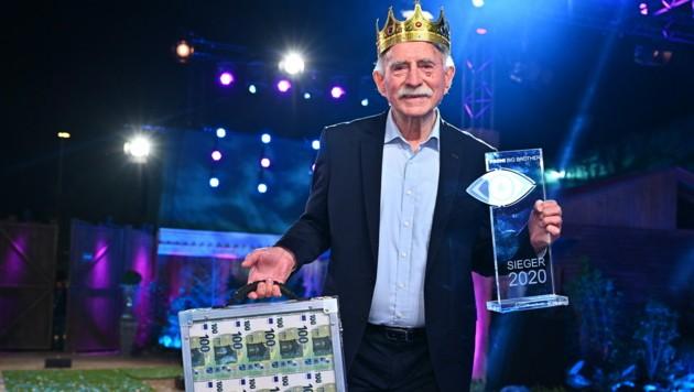 Der älteste Teilnehmer der Sendung sicherte sich ganze 100.000 Euro Preisgeld.