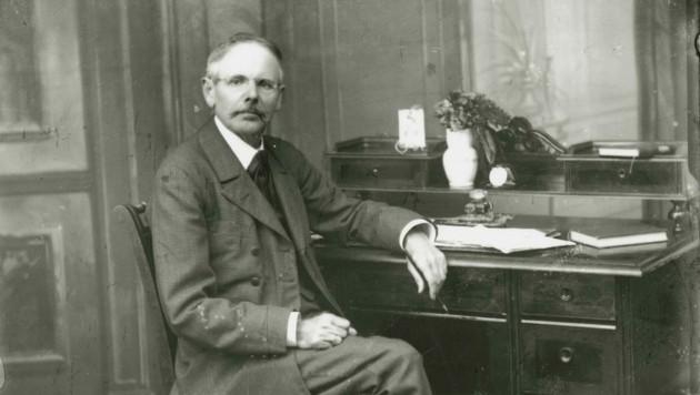 Der große steirische Heimatdichter Peter Rosegger. (Bild: F. J. Böhm)